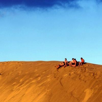 Canaries Plage et dune