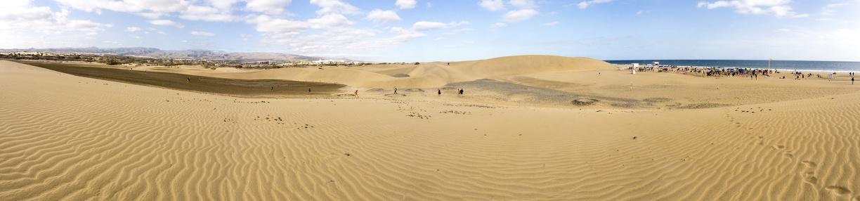Dunes et plage naturiste à proximité