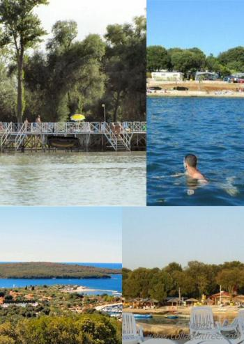 Lac Balaton et Camping Valata, collage de photos.jpg
